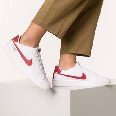 Nike Damen Wmns Court Borough Mid Se Gymnastikschuhe, Rosa