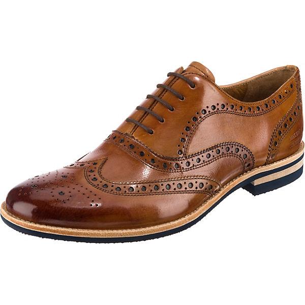 Beste Wahl MELVIN & HAMILTON Business Schuhe cognac