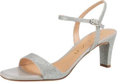 Silberne Sandaletten günstig online kaufen | mirapodo