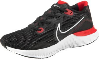 Nike Performance, Renew Run Laufschuhe, schwarzrot