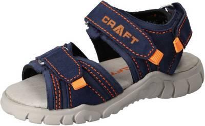 Däumling, Sandalen Weite S für schmale Füße für Jungen, blau