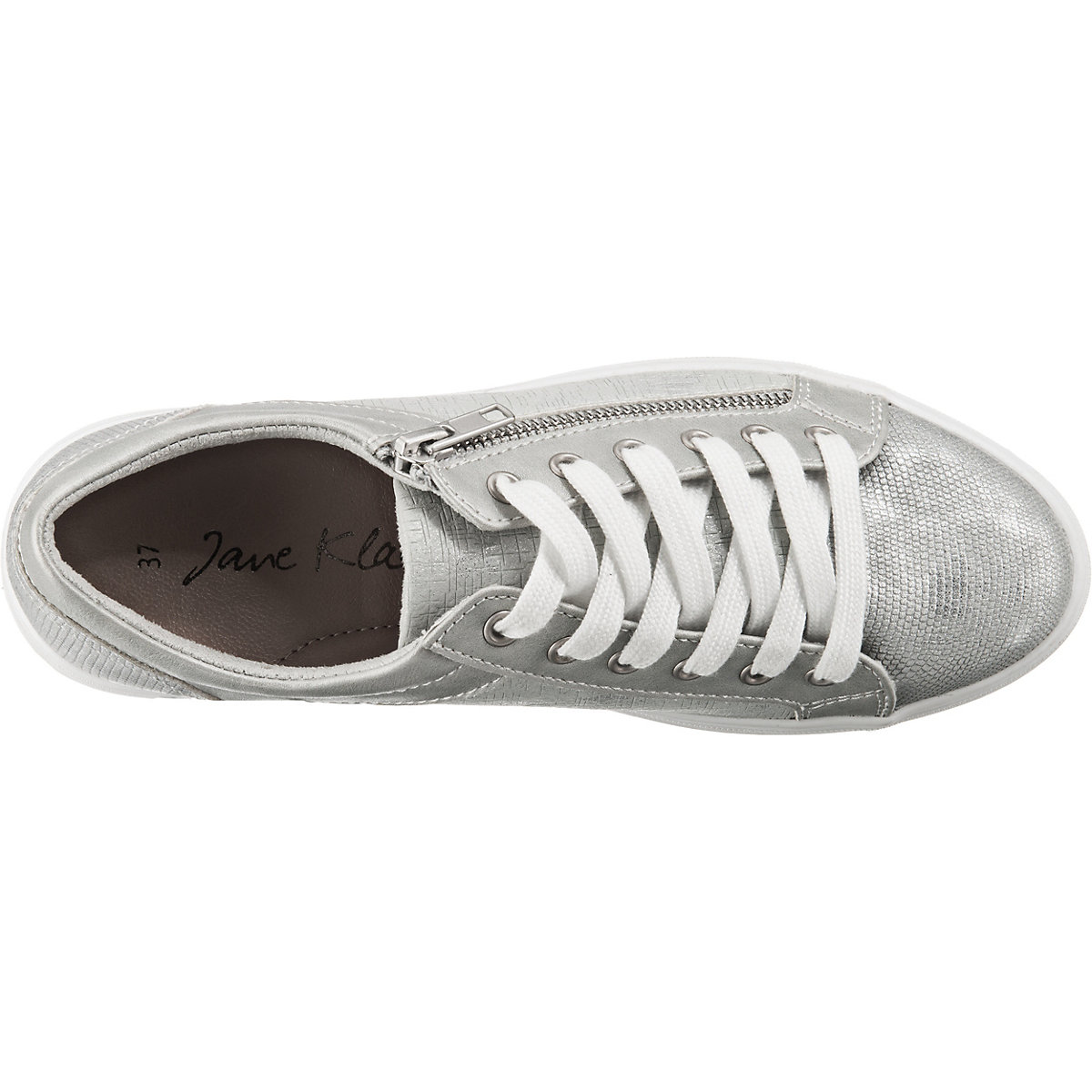Jane Klain, Sneakers Low, Silber