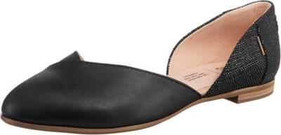TOMS, Julie D Orsay Klassische Ballerinas, schwarz