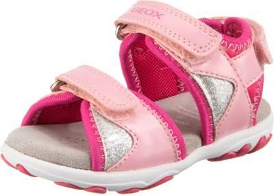 GEOX, Baby Sandalen SANDAL CUORE für Mädchen, pink