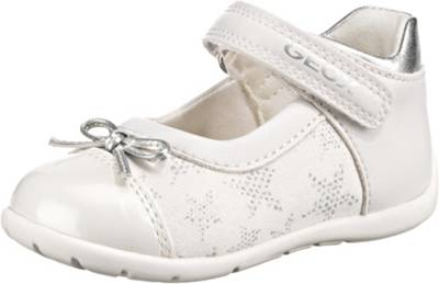 GEOX, Baby Ballerinas ELTHAN für Mädchen, weiß