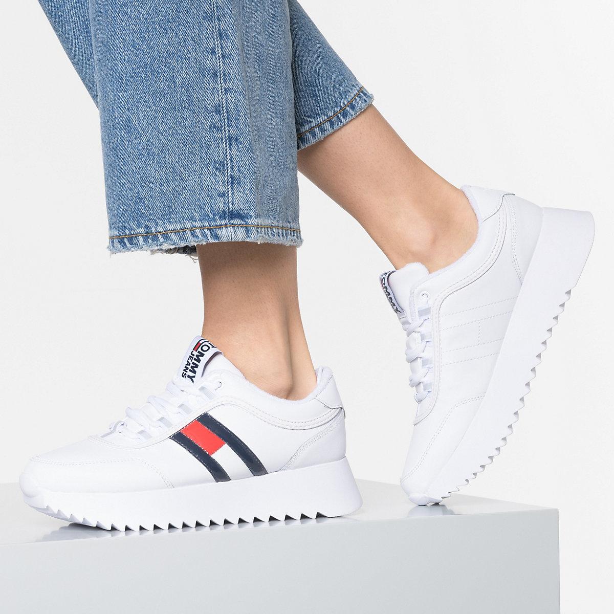 TOMMY JEANS Imogen 3c Sneakers Low weiß