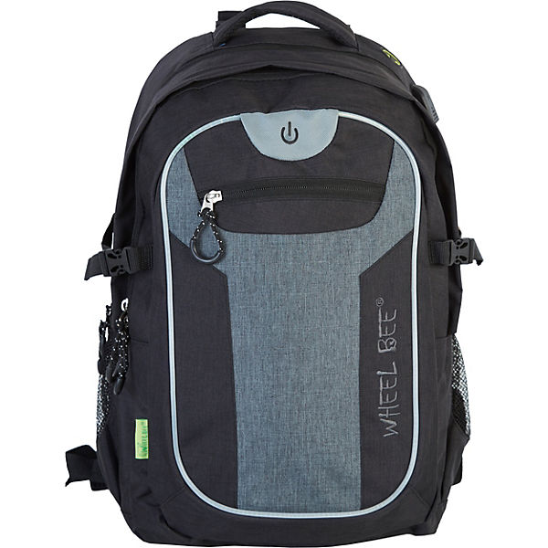 Freizteitrucksack Revolution LED Black/Grey