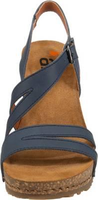 *art, Klassische Sandaletten, blau | Sandaletten für Damen