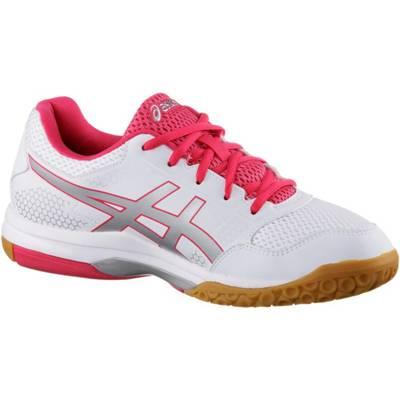 Details zu adidas Performance Damen Sportschuhe Hallenschuhe Speedcourt W weiß silber pink