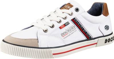 Dockers by Gerli, Sneakers Low, weiß