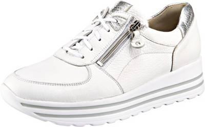 WALDLÄUFER, H lana Sneakers Low, weiß