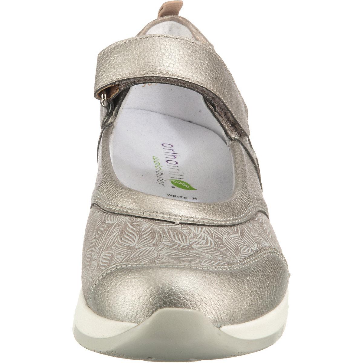 Waldläufer, H-petra Komfort-ballerinas, Silber