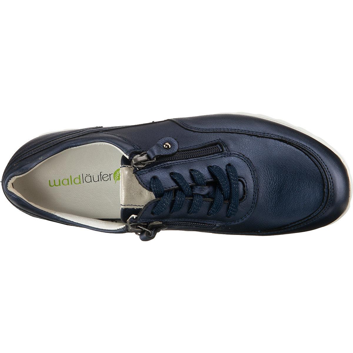 Waldläufer, Haiba Sneakers Low, Dunkelblau