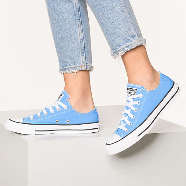 CONVERSE  Chuck Taylor All Star Ox Sneakers Low  hellblau