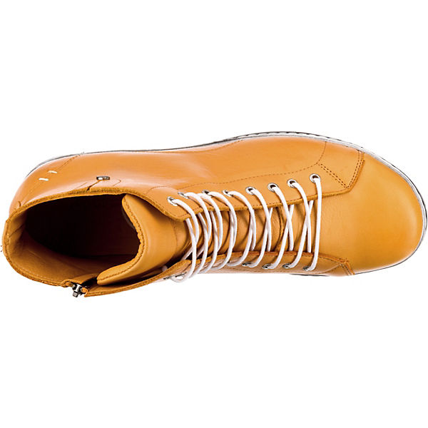Andrea Conti Sneakers High Gelb