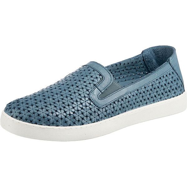 Erstaunlicher Preis Andrea Conti Komfort-Slipper blau