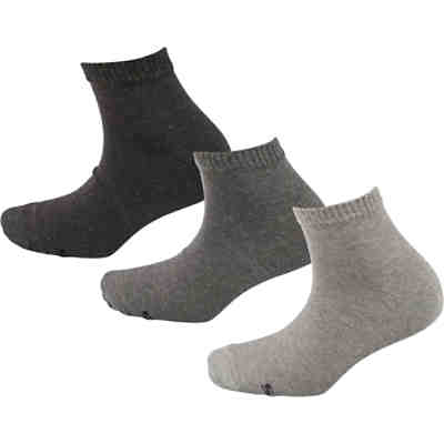 Men Basic Quarter Socks 3p