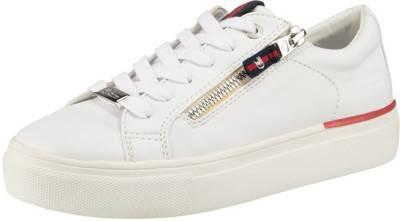 Tom Tailor Damen Low Sneaker Weiss