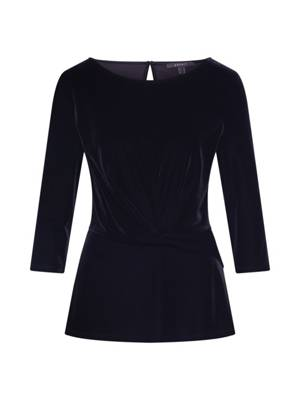 Esprit Collection Bluse Winter Stretch schwarz