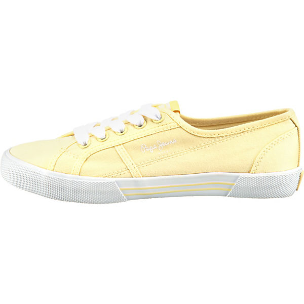 Erstaunlicher Preis Pepe Jeans  Aberlady Eco Sneakers Low  gelb