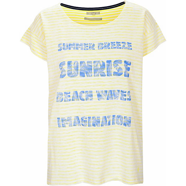 Shirt Stripe+front Print T-Shirts