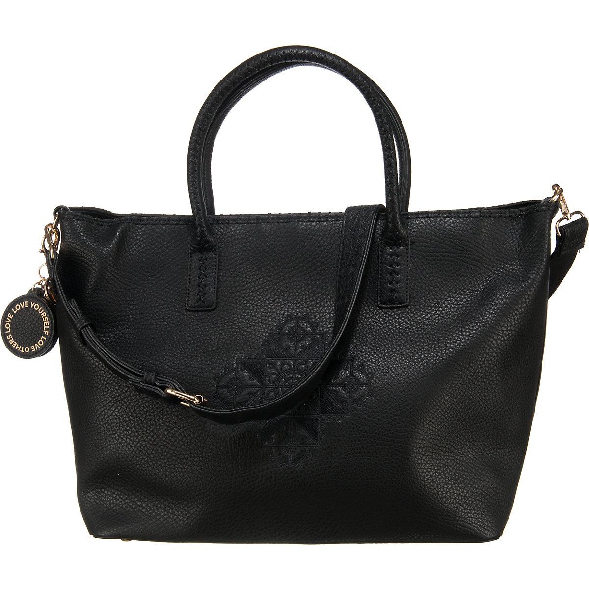 Desigual, Handtasche, schwarz