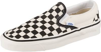 VANS, Ua Classic Slip on Slip On Sneaker, schwarzweiß