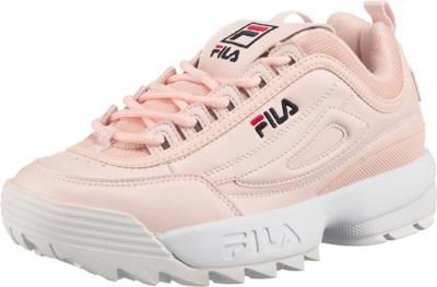 FILA, Disruptor Low Wmn Sneakers Low, rosa