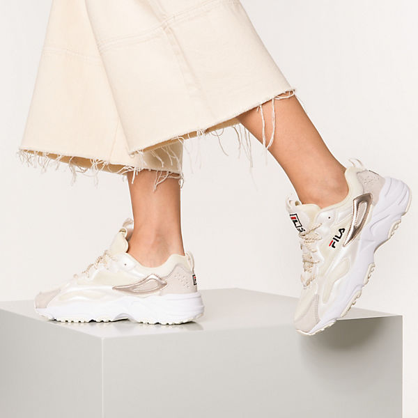 Fila Ray Tracer F Wmn Sneakers Low Creme