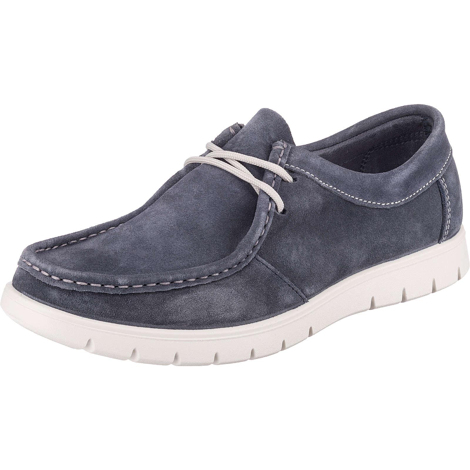 IGI & CO Usx 51155 Komfort-Halbschuhe blau Herren Gr. 41
