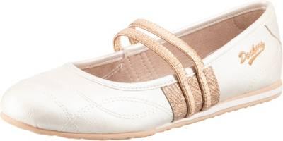 Dockers by Gerli, 680' Sportliche Ballerinas, weiß