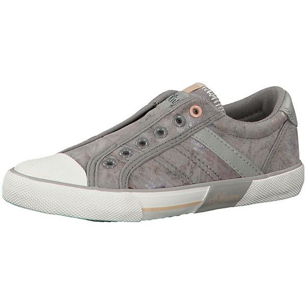 Gutes Angebot s.Oliver Sneakers Low für Mädchen grau