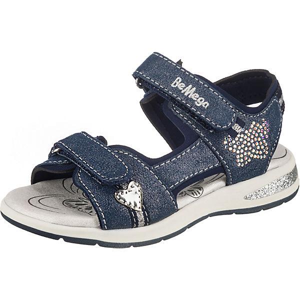 Gutes Angebot Be Mega Sandalen für Mädchen dunkelblau