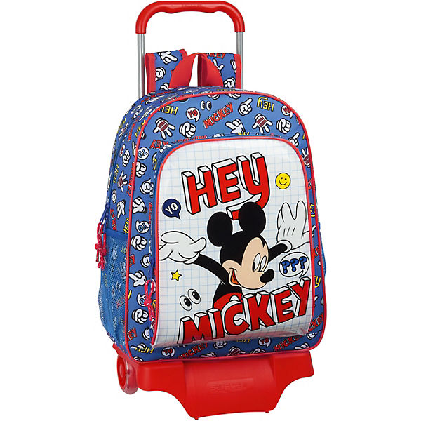 Rucksack mit Trolley Mickey Mouse Hey, Mickey!
