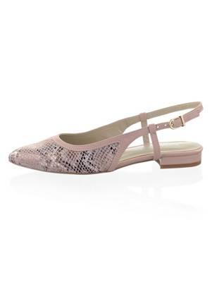 Lodi | Belgica | Sling Ballerina snake | grau, Farbe:grau
