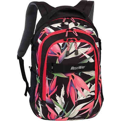 Schulrucksack Evolution Air, Orchidee