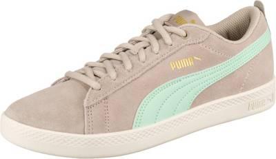 PUMA, Puma Smash Wns V2 Sd Sneakers Low, beige | mirapodo