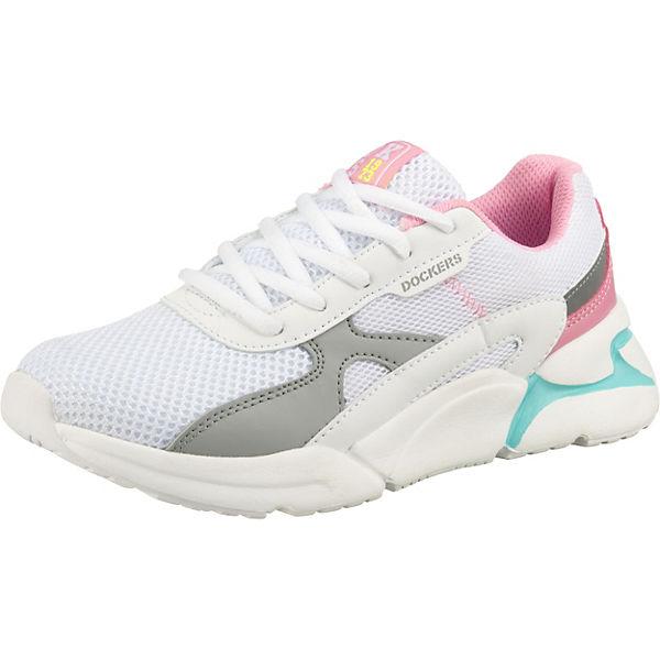 Gutes Angebot Dockers by Gerli Sneakers Low für Mädchen weiß