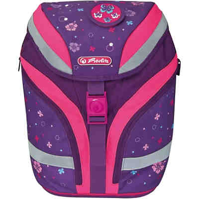 Schulrucksackset SOFTFLEX PLUS Butterfly, 7-tlg., inkl. Patches (2020/2021)