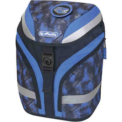 Schulrucksackset SOFTFLEX Plus Dino, 7-tlg. inkl. Patches (Kollektion 2020)