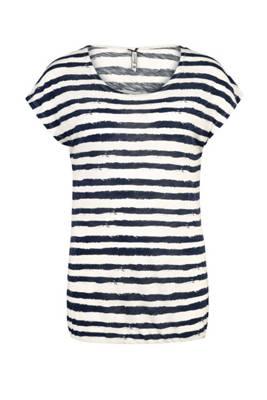 Only Damen Langarmshirt Print Shirt Damenshirt Shirt Oversize Gepunktet Sterne