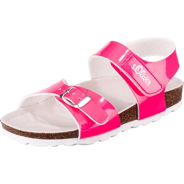 Gutes Angebot s.Oliver Sandalen für Mädchen pink