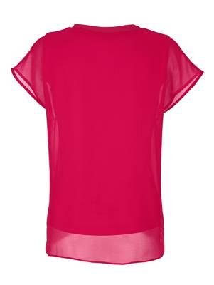 Hammerschmid Trachten Damen Blusenbody Betty Shirt halbarm Spitze Perlmuttknöpfe