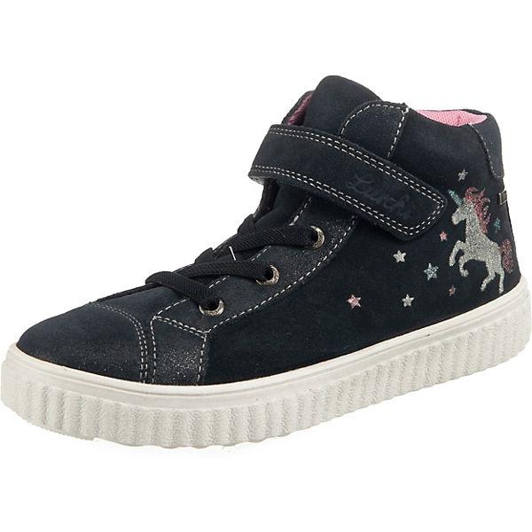 Gutes Angebot Lurchi Sneakers High YUNA für Mädchen TEX anthrazit