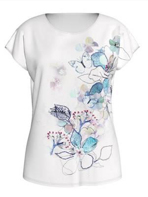 Betty Barclay Damen T-Shirt mit Strasssteinen uvp 39,90