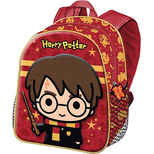 Kinderrucksack 3D Harry Potter rot
