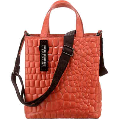 Paperbag Tote Small Croco Handtasche