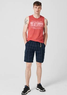 s.Oliver RED Label Jungen Regular Fit Bermuda mit Farbverlauf
