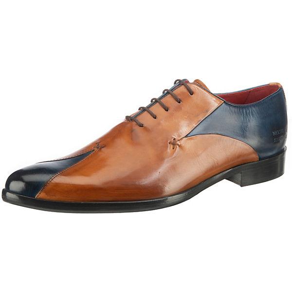 Beste Wahl MELVIN & HAMILTON Toni 31 Business Schuhe braun-kombi