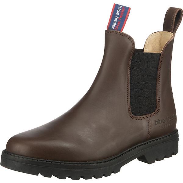 Erstaunlicher Preis Blue Heeler Jackaroo Chelsea Boots dunkelbraun